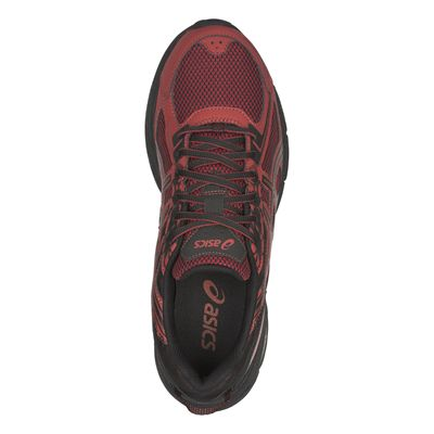 Asics Venture 6 Mens Running Shoes AW18 - Red - Above