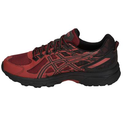 Asics Venture 6 Mens Running Shoes AW18 - Red - Side