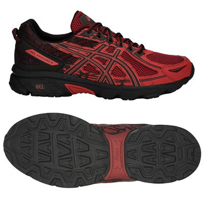Asics Venture 6 Mens Running Shoes AW18 - Red