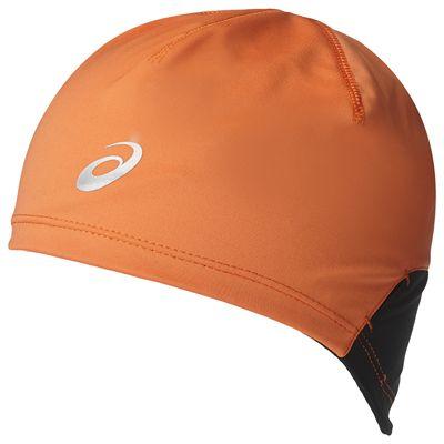 Asics Winter Running Beanie-Orange