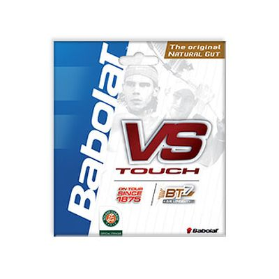 Babolat VS Touch Natural Gut 1.30mm Tennis String Set Black
