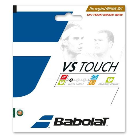 Babolat VS Touch Natural Gut 1.30mm Tennis String Set