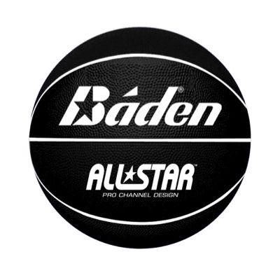 Baden All Star Basketball Black White
