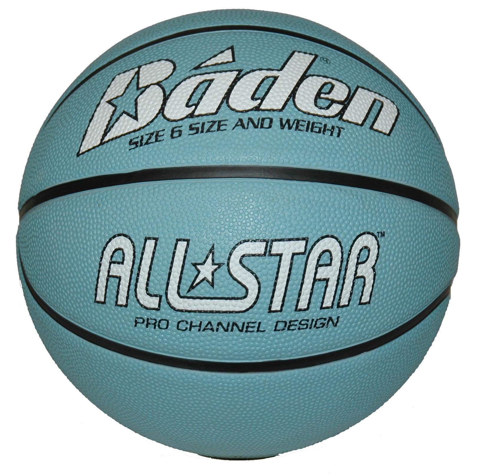 Baden All Star Basketball - Size 6, Blue