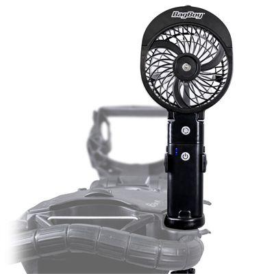 BagBoy 3 in 1 Cart FanBagBoy 3 in 1 Cart Fan - In Use 1