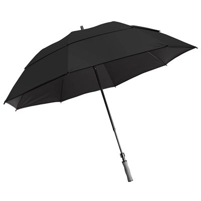 BagBoy 62 Inch Wind Vent Umbrella - Black
