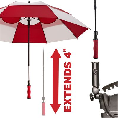 BagBoy 62 Inch Wind Vent Umbrella - Extend