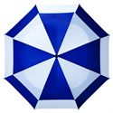 BagBoy 62 Inch Wind Vent Umbrella - Navy - Top