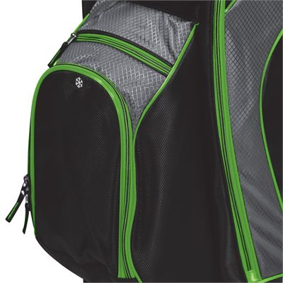 BagBoy C-500 Golf Cart Bag - Lime - Top Bot