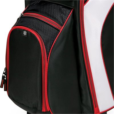 BagBoy C-500 Golf Cart Bag - Red - Bot