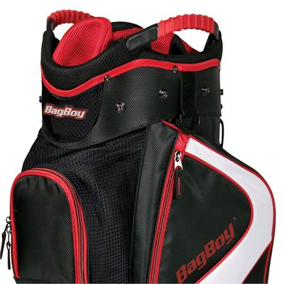 BagBoy C-500 Golf Cart Bag - Red - Top