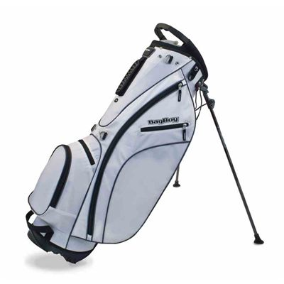 BagBoy Carry Lite Stand Bag-White
