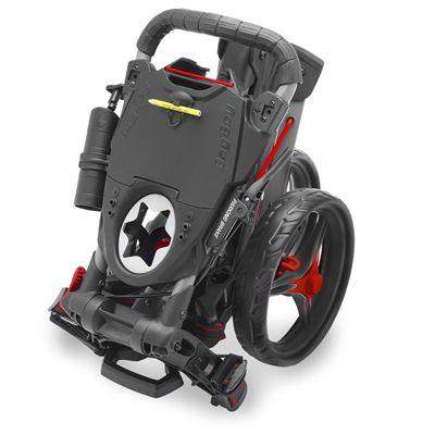 BagBoy Compact 3 Golf Trolley - Black Folded
