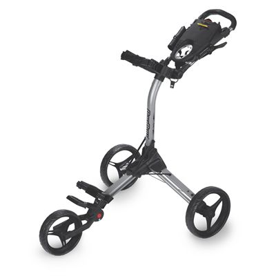 BagBoy Compact 3 Golf Trolley - Silver