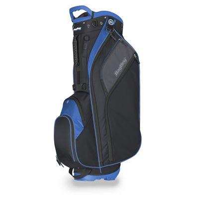 BagBoy Go Lite Hybrid Cart and Golf Stand Bag - Blue - Side