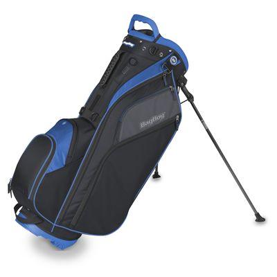 BagBoy Go Lite Hybrid Cart and Golf Stand Bag - Blue
