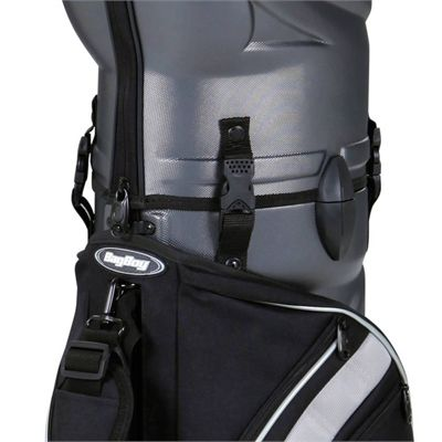 BagBoy Hybrid TC Hard Top 2 in 1 Golf Bag and Travel Cover Logo Close View