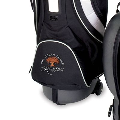 BagBoy Hybrid TC Hard Top 2 in 1 Golf Bag and Travel Cover Wheel Close View