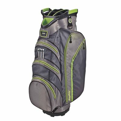 BagBoy Lite Rider Cart Bag-Grey And Lime