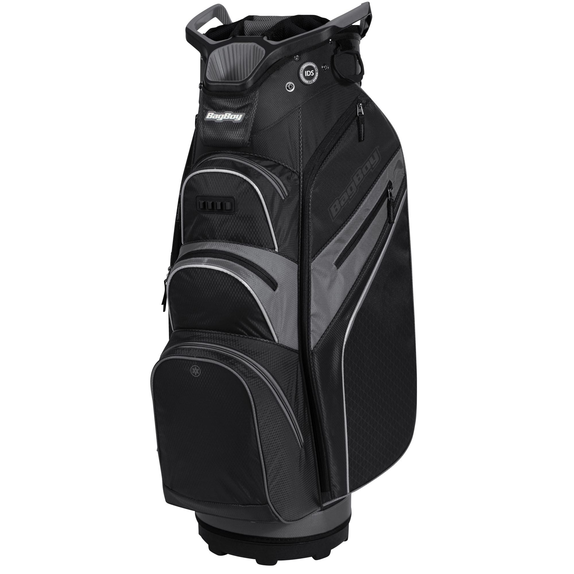 BagBoy Lite Rider Pro Golf Cart Bag – Black/Grey