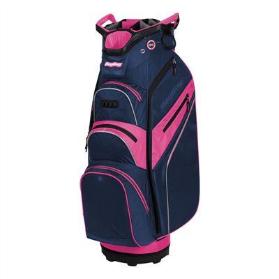 BagBoy Lite Rider Pro Golf Cart Bag - Navy Pink