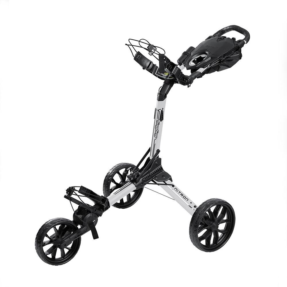 BagBoy Nitron Golf Trolley – White/ Black
