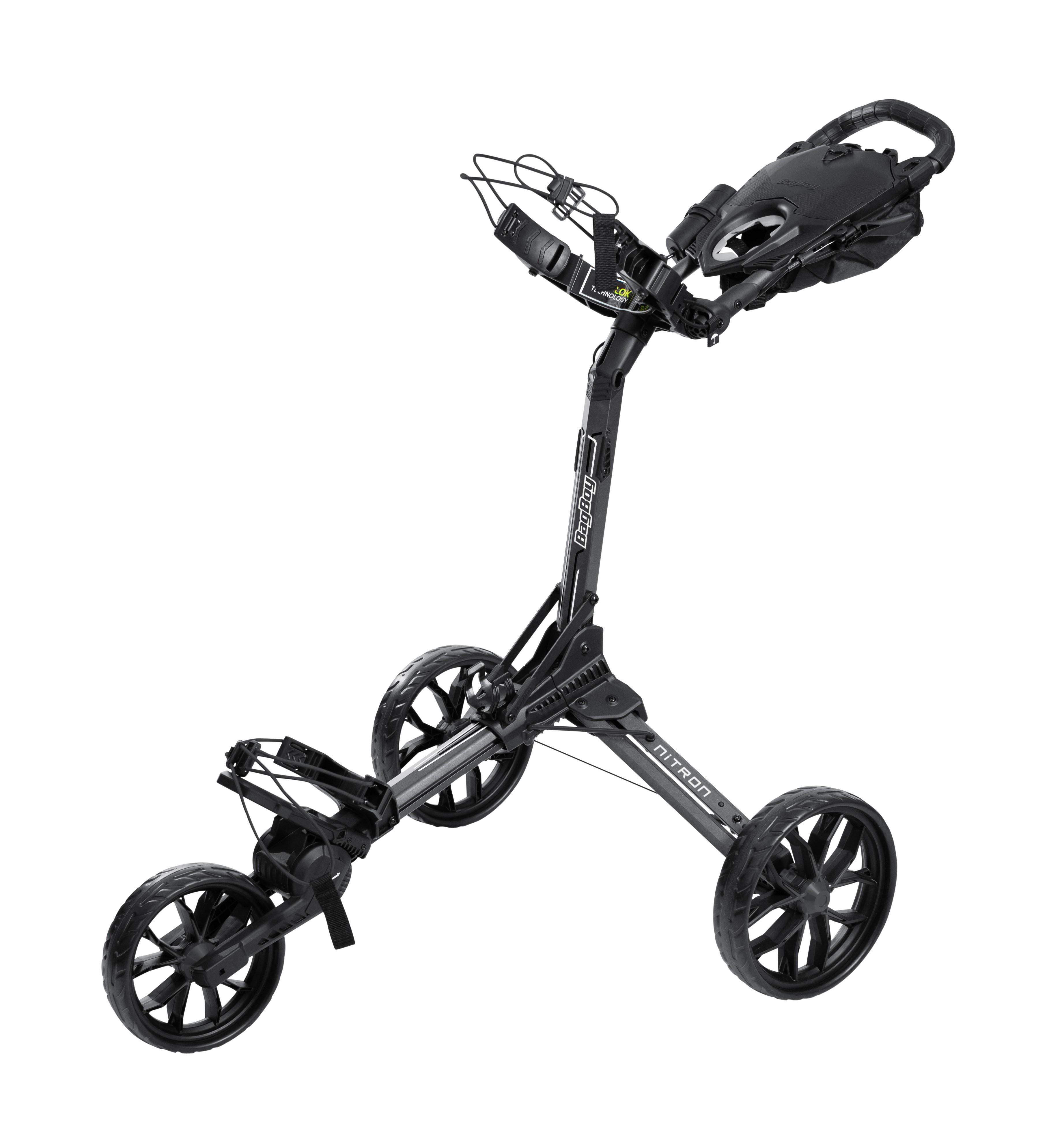 BagBoy Nitron Golf Trolley – Graphite