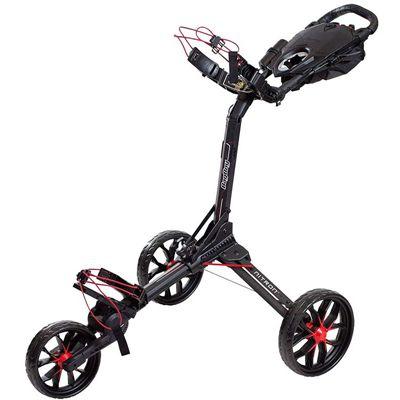 BagBoy Nitron Golf Trolley - Black Red