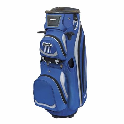 BagBoy Revolver LTD Cart Bag - Blue And Silver