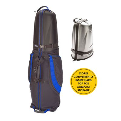 BagBoy T-10 Hard Top Golf Travel Cover-Black And Blue - Compact Storage