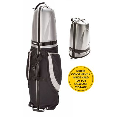 BagBoy T-10 Hard Top Golf Travel Cover-Black And Grey - Compact Storage