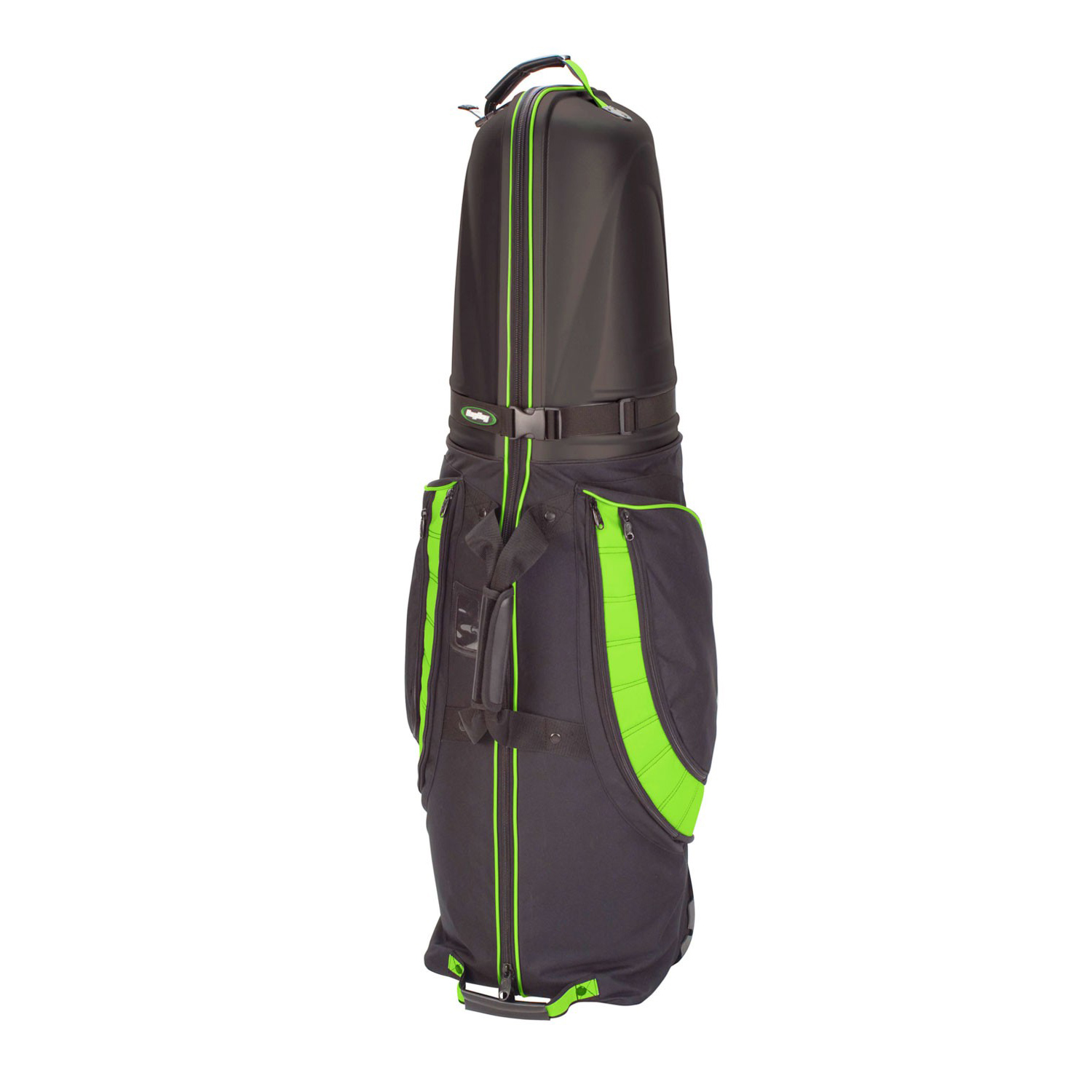 BagBoy T-10 Hard Top Golf Travel Cover - Black/Lime