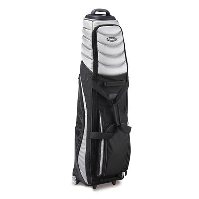 BagBoy T-2000 Pivot Grip Golf Travel Cover-Silver And Black