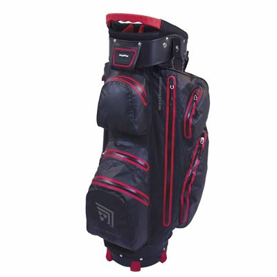 BagBoy Techno Water Cart Bag-Black And Red