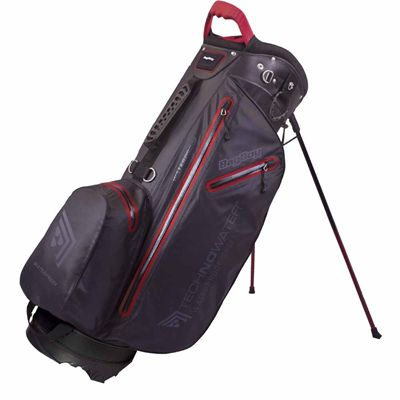 BagBoy Techno Water Stand Bag-Black and Red
