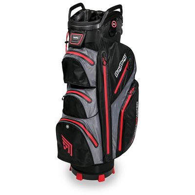 BagBoy TechnoWater C-302 Golf Cart Bag - Black/Red