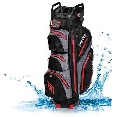 BagBoy TechnoWater C-302 Golf Cart Bag - BlackRed