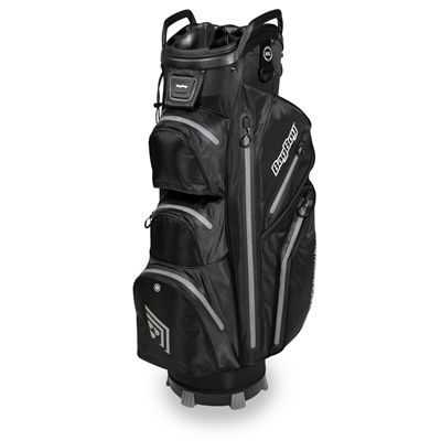 BagBoy TechnoWater C-302 Golf Cart Bag - Black/Silver