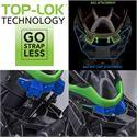 BagBoy Technowater DG Lite Dri Golf Cart Bag - Black Blue - Technology
