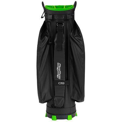 BagBoy Technowater Flow Golf Cart Bag - Back