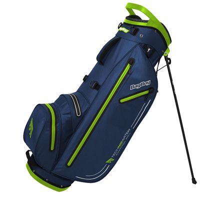 BagBagBoy Technowater Trekker Dri Golf Stand Bag - Lime