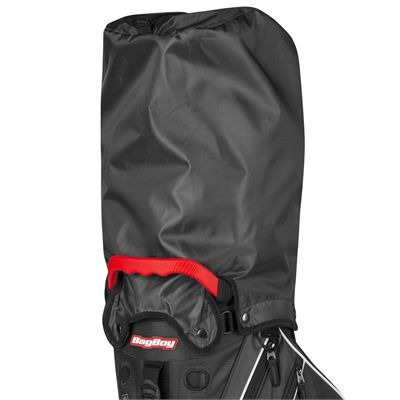 BagBoy Trekker Ultra Lite Golf Stand Bag - BlackRed - Cover