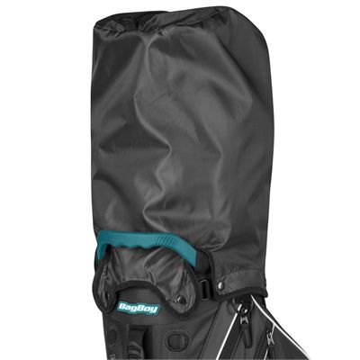 BagBoy Trekker Ultra Lite Golf Stand Bag - Charocal - Cover
