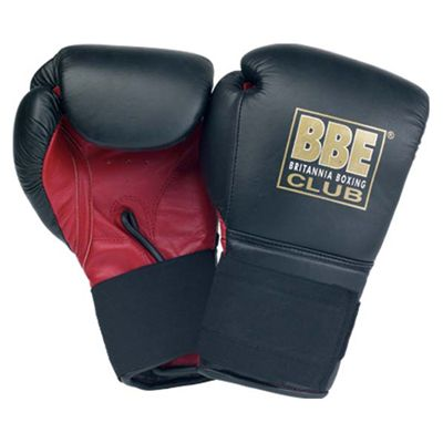 BBE Club 10oz Leather Ring Trainer Gloves