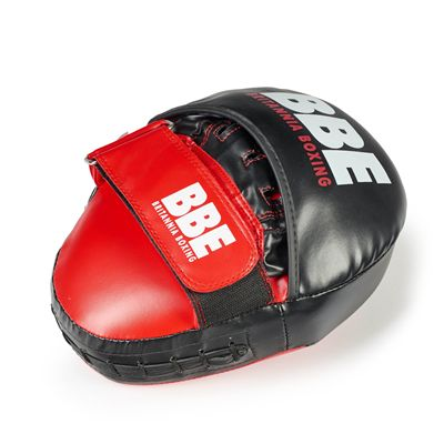 BBE Club FX Curved Hook and Jab Pads - Above