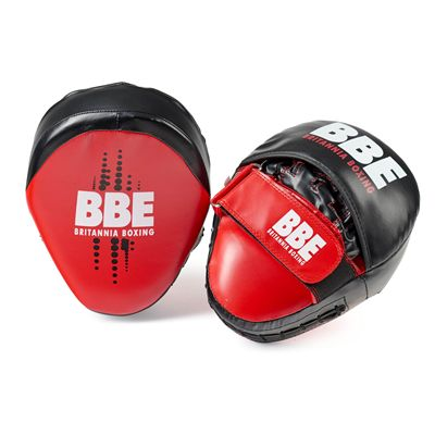 BBE Club FX Curved Hook and Jab Pads - Back