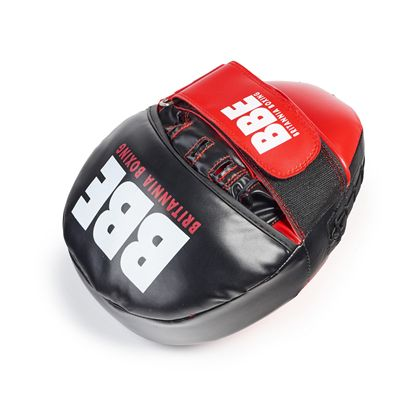 BBE Club FX Curved Hook and Jab Pads - Front