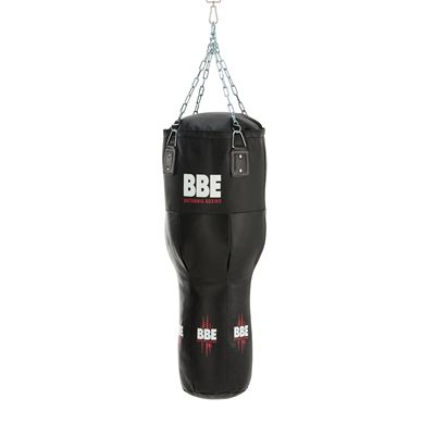 BBE Club Leather 110cm Uppercut Punch Bag with Chains Swivel - Side