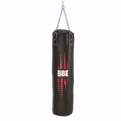 BBE Club Leather 120cm Punch Bag with Chains and Swivel
