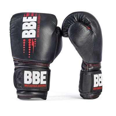 BBE Club Leather Sparring Gloves - Front